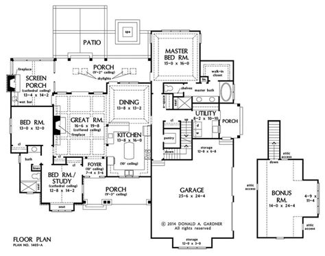 barbie dream house floor plan floorplan the ferris house plan 1405 house plans
