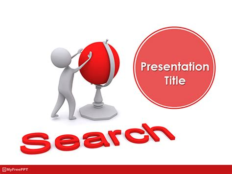 Global Search Free Free Finding Location Powerpoint Templates Myfreeppt