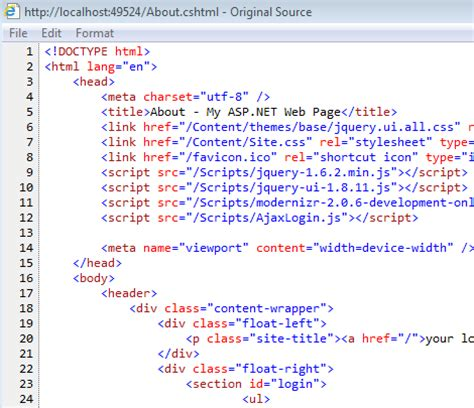 pattern html5 exles visual studio 11 first look mark dubois weblog