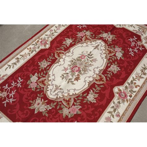 4 x 6 new woolen handmade beautiful needlepoint area rug