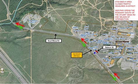 c pendleton base map road closures to cause delays during trials gt marine corps