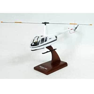 International Harvester Home Decor robinson r 44 helicopter model dh8824 civilian