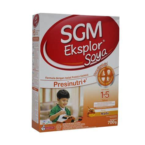 Formula Sgm Soya jual sgm eksplor soya presinutri madu formula 700 g