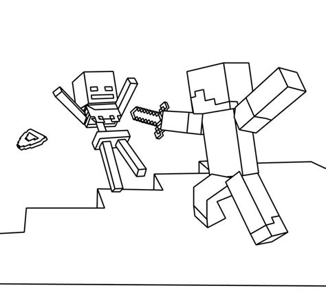 coloring pages of minecraft stylongnose minecraft color page coloring home