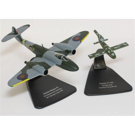 doodle bugs paragon indiana oxford diecast aviation 1 72 ac031 gloster meteor plus v1