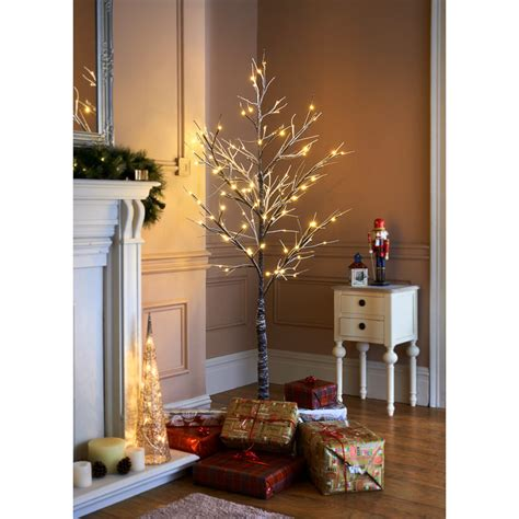 snowy twig christmas tree 6ft artificial trees xmas b m