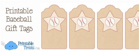 printable baseball tags printable baseball gift tags printable treats com