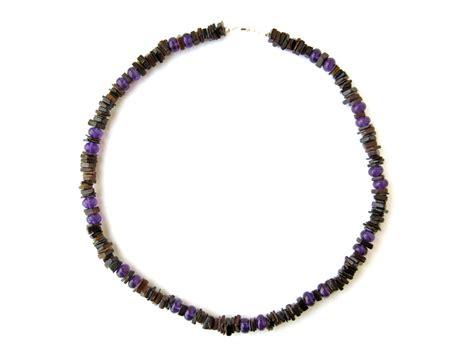 amethyst surf purple mens surfer necklace authentic arts