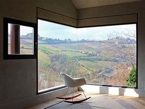 Corner Window | 30 modern corner windows for framed and frameless