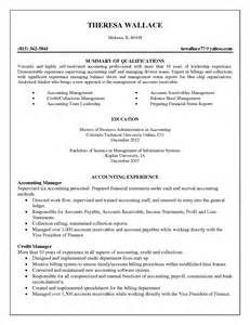 Sle Resume For Accountant Position by Junior Accounting Resume Sales Accountant Lewesmr