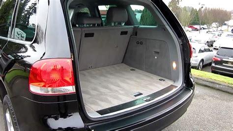 volkswagen touareg interior 2004 2004 volkswagen touareg v6 black stock 5056b