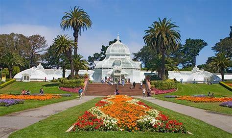 Golden Gate Park Flower Garden Tourism Golden Gate Park