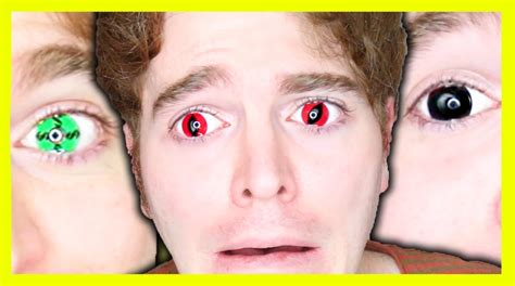 cool anime eye contacts wearing contact lenses