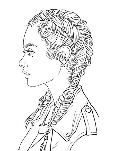 idea  rosie chavez  art people coloring pages cute
