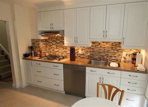 Backsplash For White Kitchen Cabinets Decor Ideasdecor Ideas Kitchen Backsplash White Cabinets