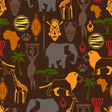 african pattern vector download free african style seamless vector pattern 04 vector pattern