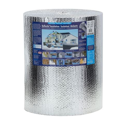 reflectix 24 in x 100 ft reflective insulation