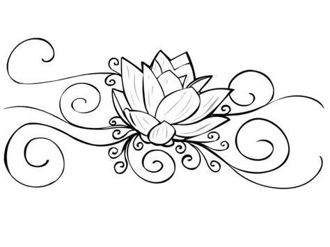 lotus designs coloring pages lotus flower tattoo coloring pages free coloring pages