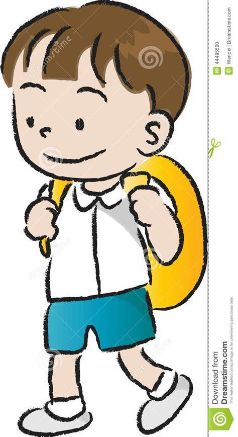 imagenes niños que van ala escuela los ni 241 os van a la escuela stock de ilustraci 243 n imagen