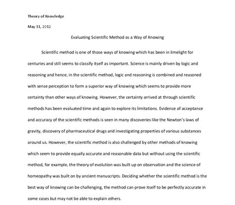 Methods Of Writing Essays by Research Paper Sciencentific Method Writefiction581 Web Fc2