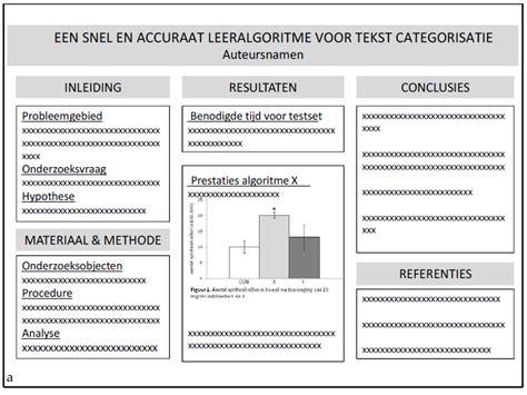 layout wetenschappelijk artikel practicum academische vaardigheden