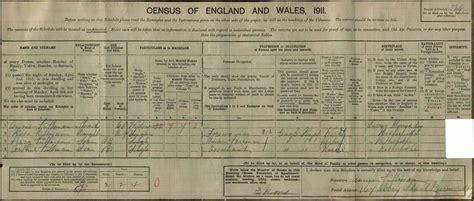 1911 Census Address Search Free Percy Fullman