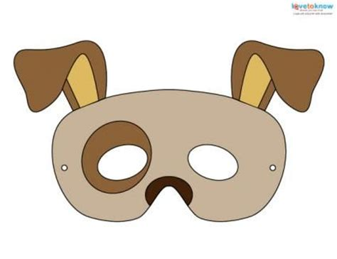 free printable animal eye masks the 25 best dog mask ideas on pinterest animal masks