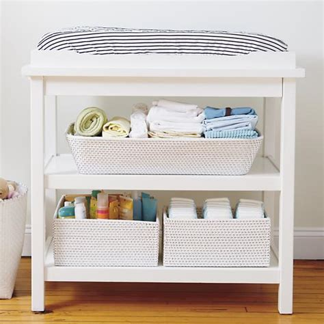 Changing Table With Storage Essentials To Setting Up A Baby Nursery The Pack
