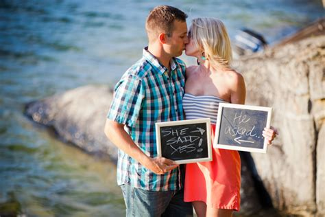themes for engagement pictures engagement session boating frolic at the lake belle