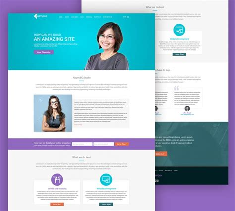 templates for website development free web development company website template free psd at