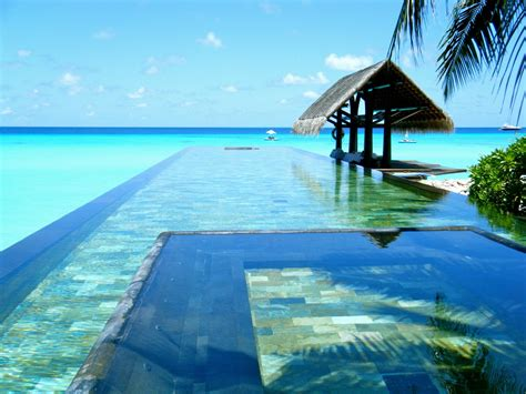 pools of paradise paradise pool the maldives elite traveler