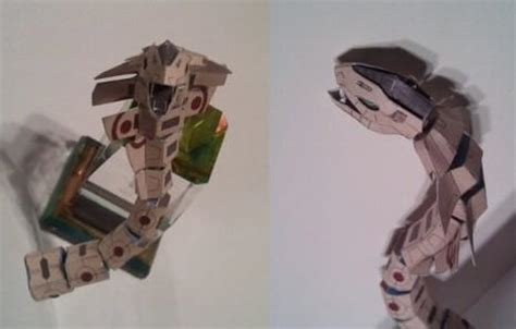 Snake Papercraft - papercraftsquare january 2016
