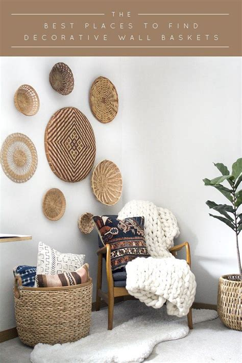 Wall Baskets Decor 17 Best Ideas About Wall Basket On Hanging
