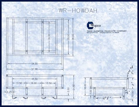 Wine Rack Opening Size by Rack Drawings Topco Inc Quot We Make Wine Barrel Racks Quot
