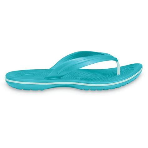 toe separator sandals crocs crocband flip toe separator sandals black white