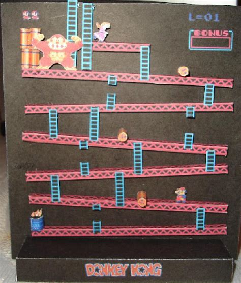 Kong Papercraft - mario vs kong po archives