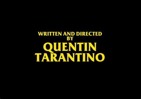 film written by quentin tarantino written and directed by quentin tarantino art print by