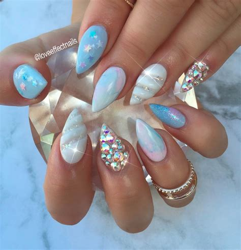 Nail And by 3d Unicorn Horn Nails Popsugar