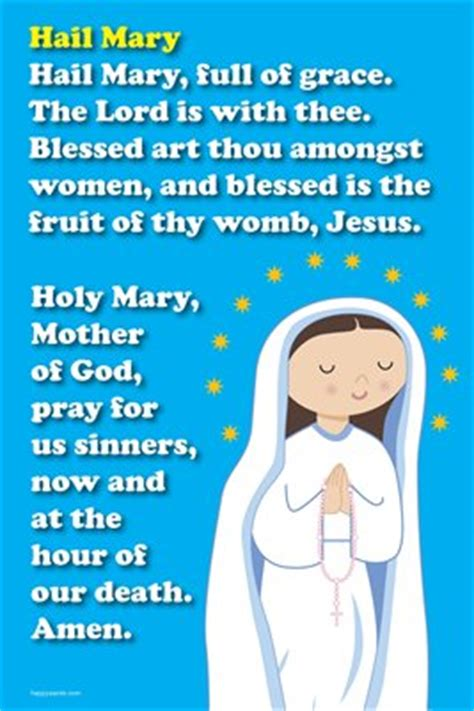 printable version of hail holy queen image gallery hail mary prayer
