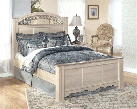 ashley poster bed ashley signature design catalina king size poster bed with