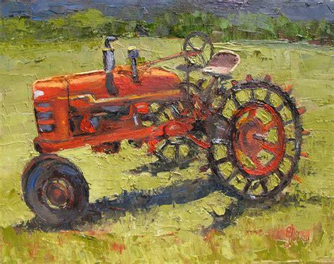 Sheri Jones Painting Journal Farm All Tractor By Sheri Jones