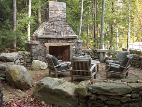 5 amazing outdoor fireplace designs vonderhaar