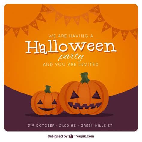 tarjeta animada para halloween halloween tarjetas tarjeta de invitaci 243 n de la fiesta de halloween con