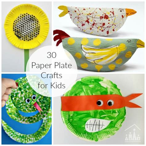 Arts And Crafts Paper Plates - 30 awesome paper plate crafts crafty at home