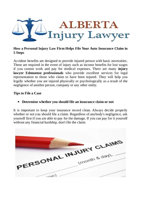 How a Personal Injury Law Firm Helps File Your Auto