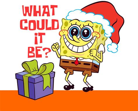 gift spongebob square pants picture