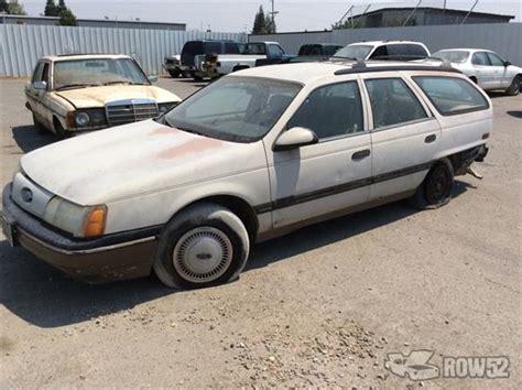 1988 ford taurus wagon row52 1988 ford taurus wagon at n pull redding