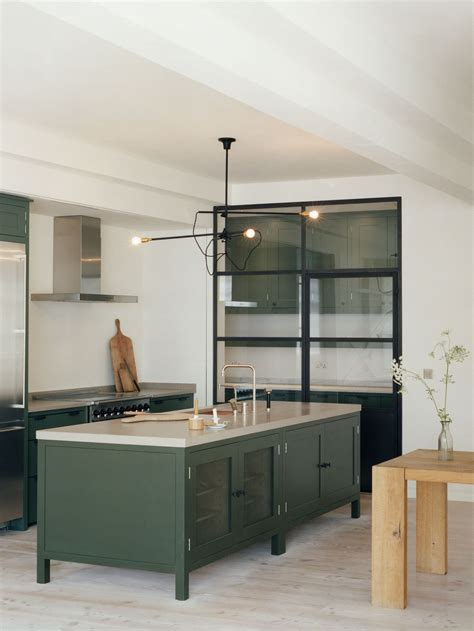 green kitchen islands green cabinet kitchens westergard design in