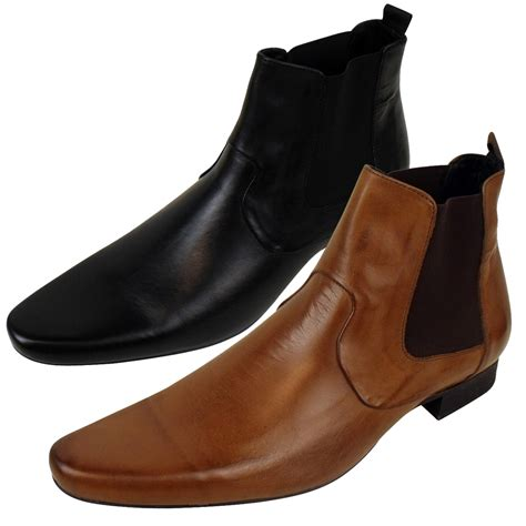 designer mens chelsea boots mens h by hudson leather smart chelsea boot soes formal