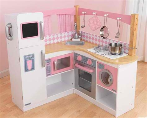 20 play kitchens to make chef pretend play more and